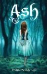 "UK cover of Malinda Lo's novel ""Ash"""