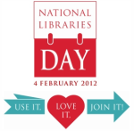 National Libraries Day poster - 4 February 2012